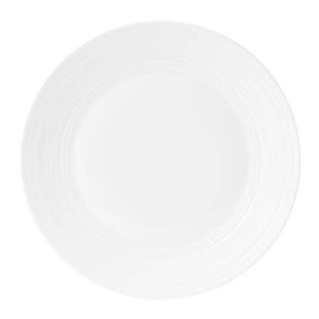 "WEDGWOOD Jasper Conran Blanc Strata Assiette de Dîner 11"""