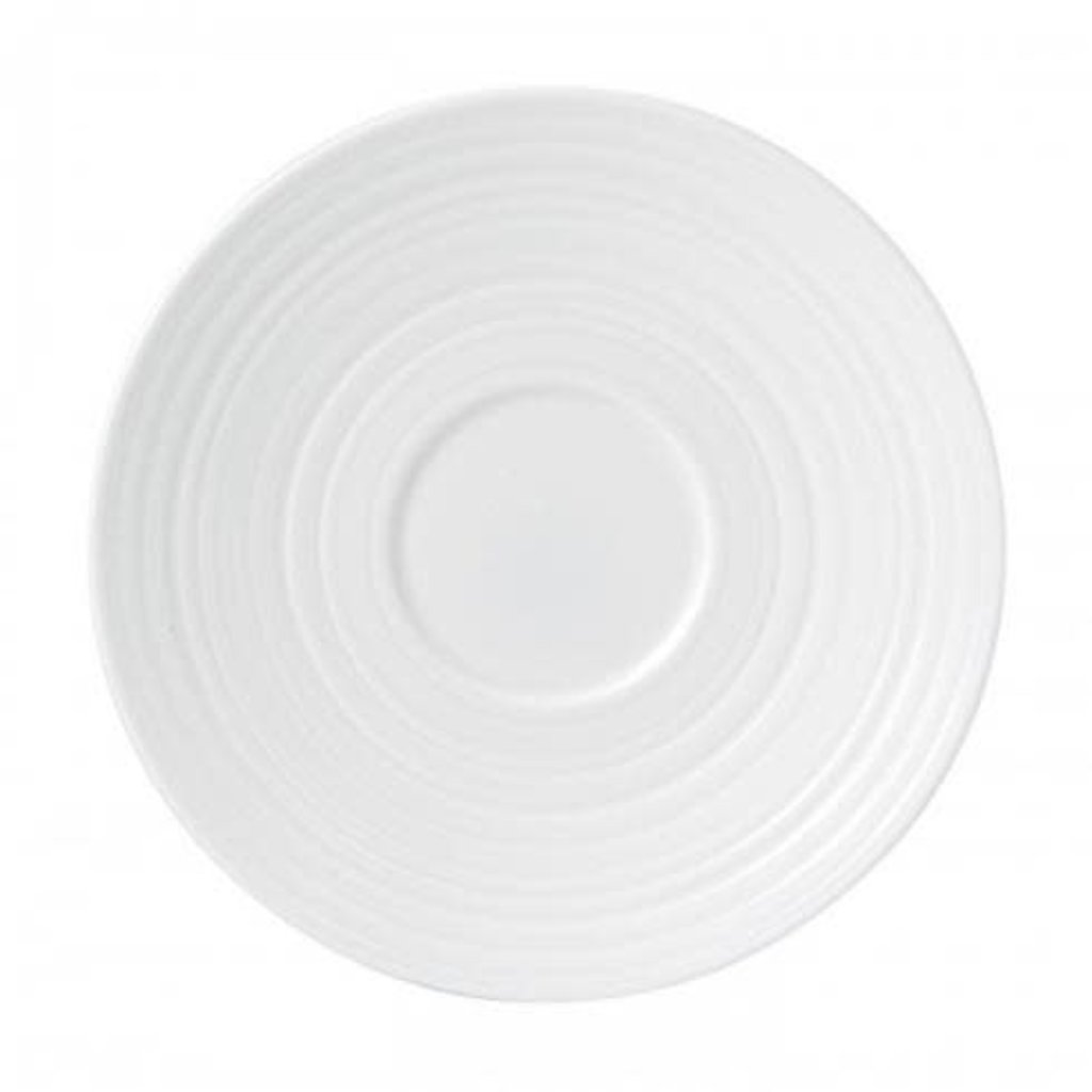 WEDGWOOD Jasper Conran White Strata Tea Saucer