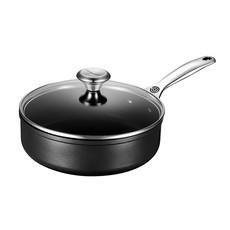 LE CREUSET Toughened Nonstick 3.3 L Saute Pan W Lid