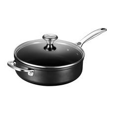 LE CREUSET Toughened Nonstick 4.0 L Saute Pan W Hh And Lid