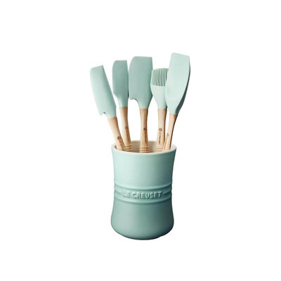 LE CREUSET Revolution Set 6 Pc Utensil Sage