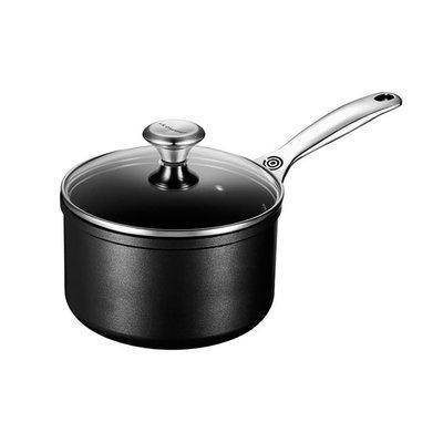 LE CREUSET Toughened Nonstick 1.9 L Saucepan W Lid