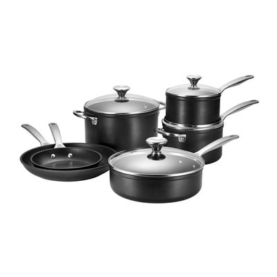 LE CREUSET Ensemble 10 Pc Toughened Nonstick