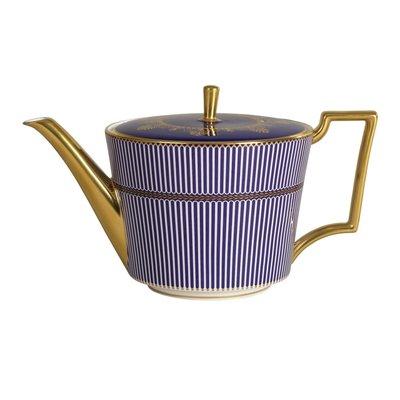 WEDGWOOD Prestige Anthemion Blue Teapot L/S