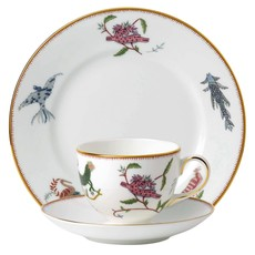 "WEDGWOOD Prestige Mythical Creatures 3-Piece Set (Teacup, Saucer & Plate 8"")"