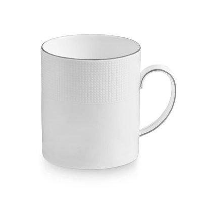 WEDGWOOD Vera Wang Blanc Sur Blanc Mug 15 Oz