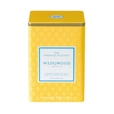 WEDGWOOD Signature Tea Emerald Duchess Caddy 100G
