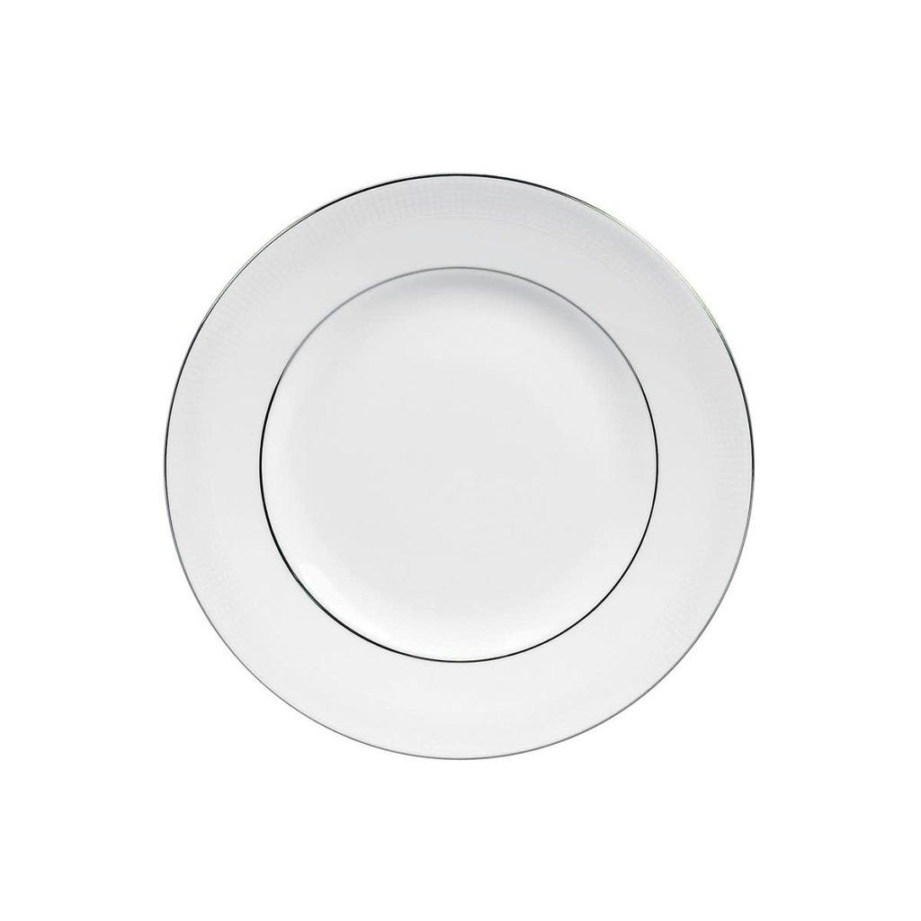 "WEDGWOOD Vera Wang Blanc Sur Blanc Salad Plate 8"""