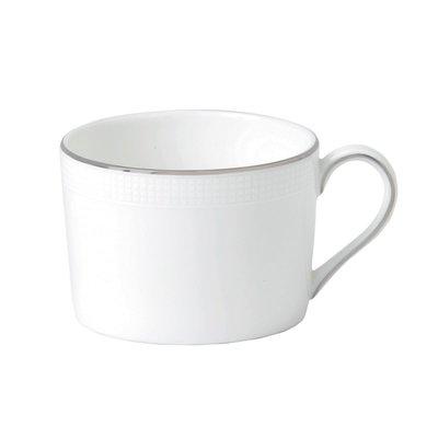 WEDGWOOD Vera Wang Blanc Sur Blanc Teacup Imperial