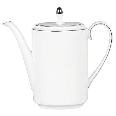 WEDGWOOD Vera Wang Blanc Sur Blanc Coffeepot 1.3 Ltr/44 Oz