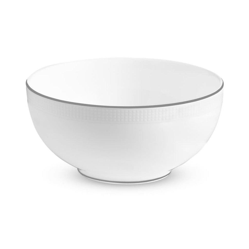 "WEDGWOOD Vera Wang Blanc Sur Blanc Soup/Cereal Bowl 6"""