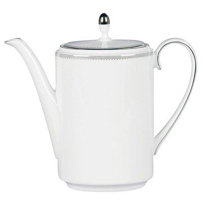 WEDGWOOD Vera Wang Grosgrain Coffeepot 1.3 Ltr/44 Oz