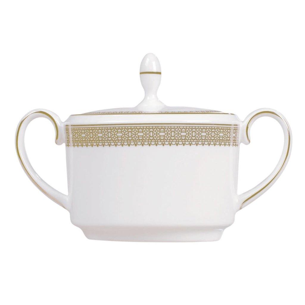 WEDGWOOD Vera Wang Vera Lace Gold Sugar Imperial