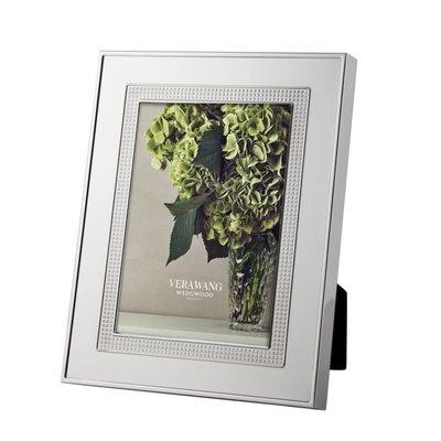 "WEDGWOOD Vera Wang Blanc Sur Blanc Frame 5X7"""