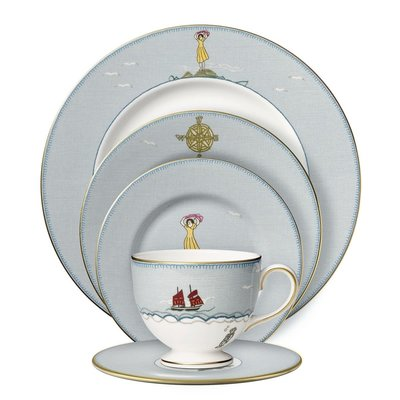 WEDGWOOD Prestige Sailors Farewell 5-Piece Place Setting