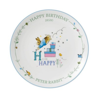 WEDGWOOD Wedgwood Peter Rabbit 2020 Annual Birthday Plate