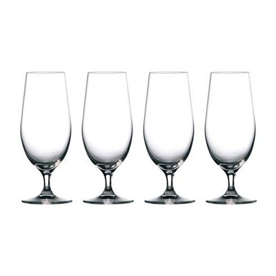 WATERFORD Moments Beer Glass 15.5 Oz Set/4