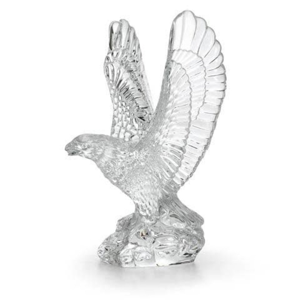 WATERFORD Eagle Sculpture 7.5""