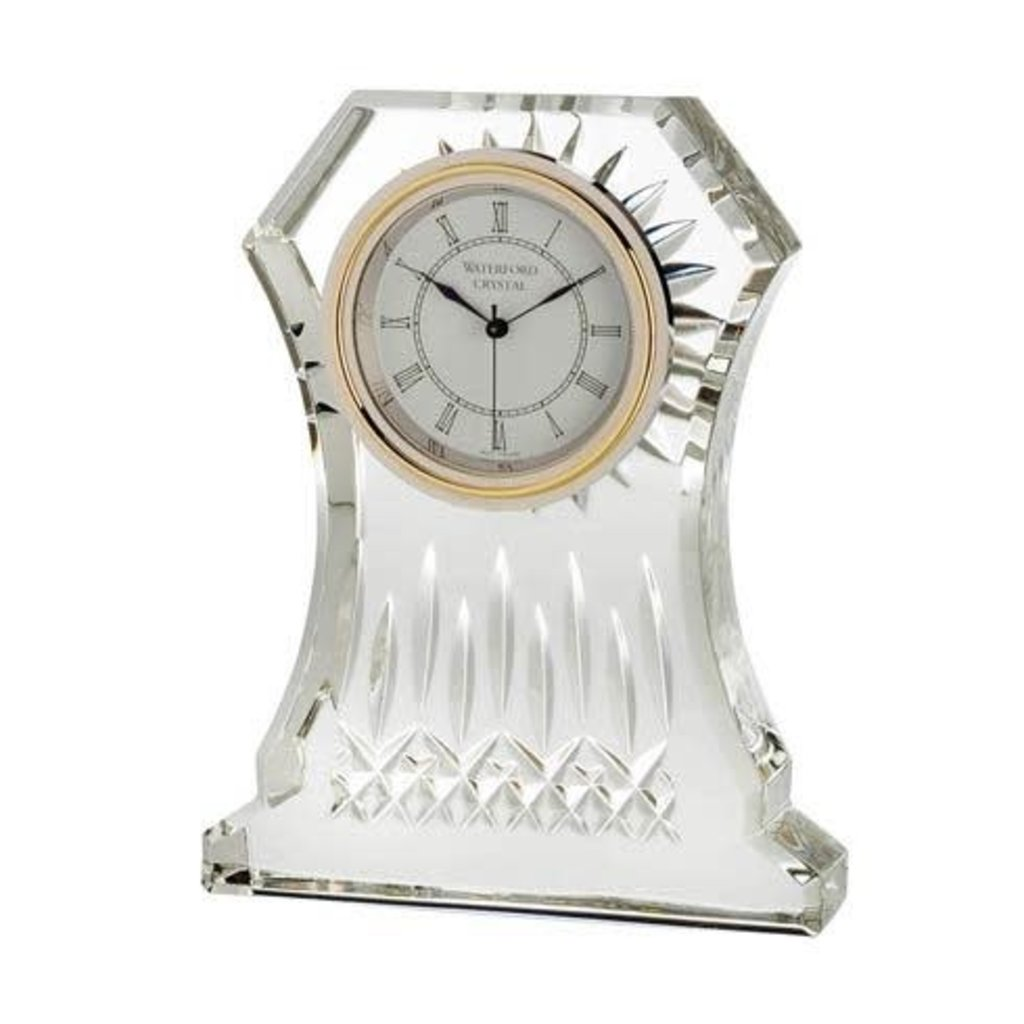 "WATERFORD Lismore Clock 6.5"""