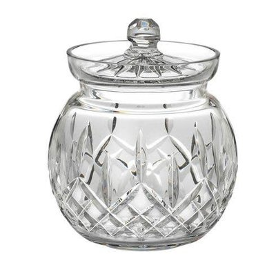 WATERFORD Lismore Biscuit Barrel Rond