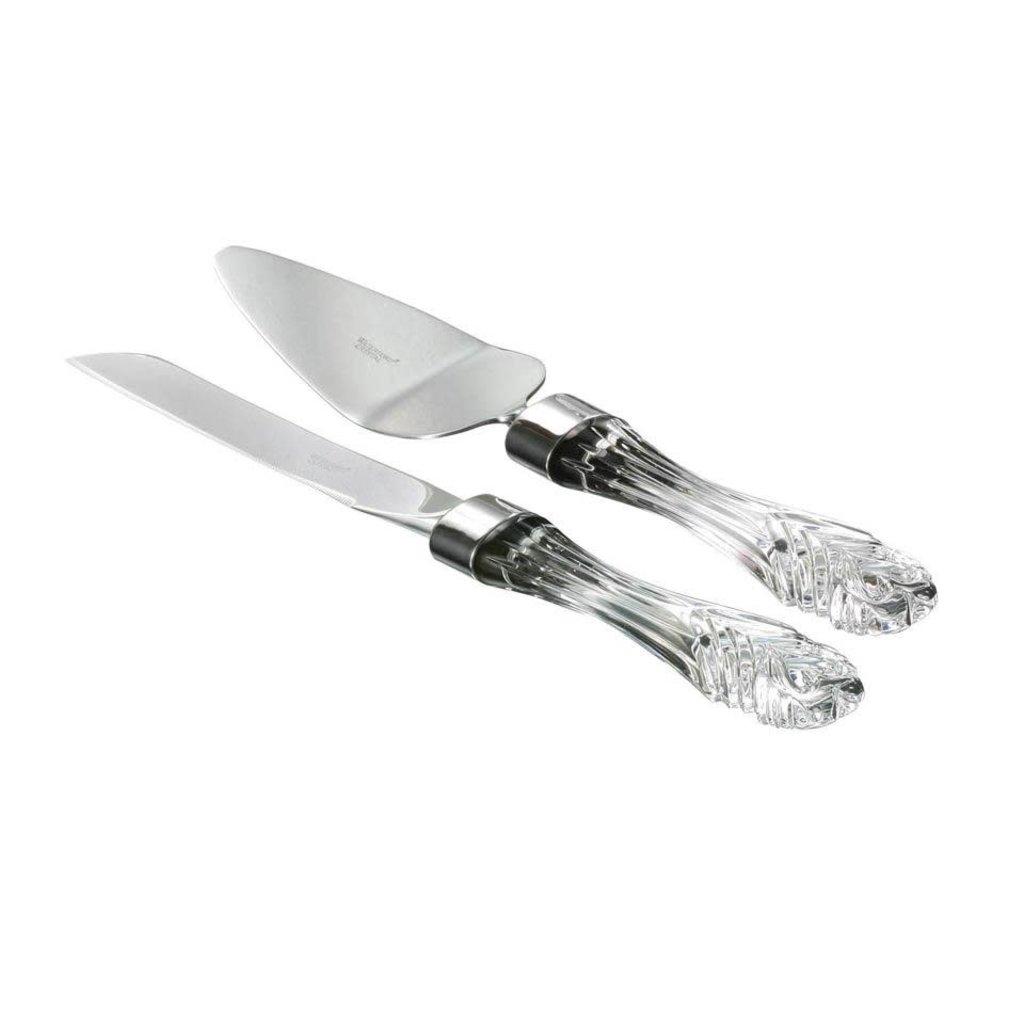 WATERFORD Wedding Cake Knife & Server Set