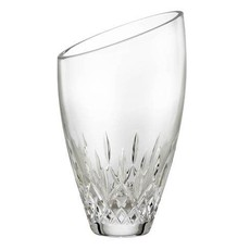 """WATERFORD Lismore Essence Vase Angulaire 9"""""""