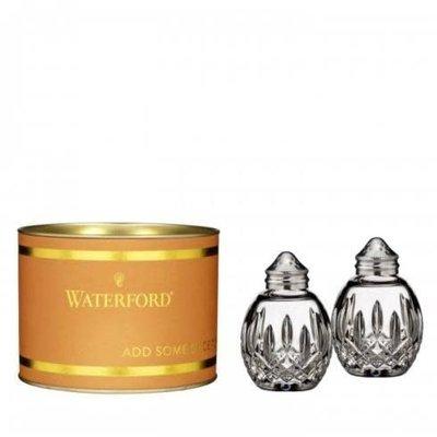 "WATERFORD Giftology Lismore Round Salt & Pepper Set 3"" (Orange Tube)"