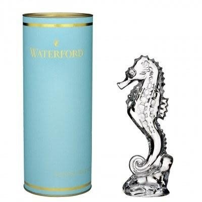 """WATERFORD Giftology Seahorse Collectible 7.2"""" (Daiquiri Tube)"""