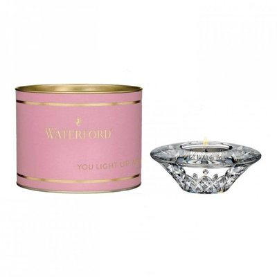 """WATERFORD Giftology Votive 4"""" (Pink Tube)"""