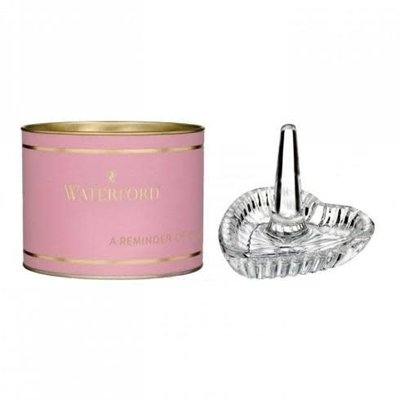 "WATERFORD Giftology Heart Ring Holder 3"" (Pink Tube)"