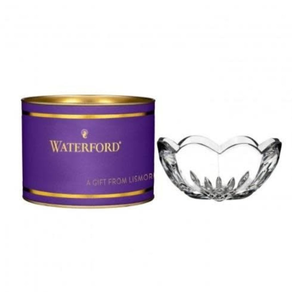 "WATERFORD Giftology Lismore Heart Bol 4"" (Purple Tube)"