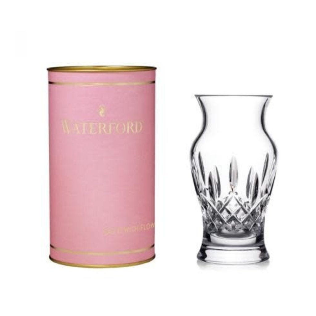 "WATERFORD Giftology Lismore 6"" Vase (Pink Tube)"