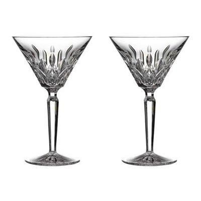 WATERFORD Lismore Martini 4 Oz Set/2