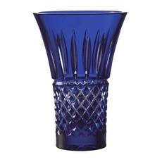 "WATERFORD Treasures Of The Sea Tramore Vase Évasé 8"" Blue"