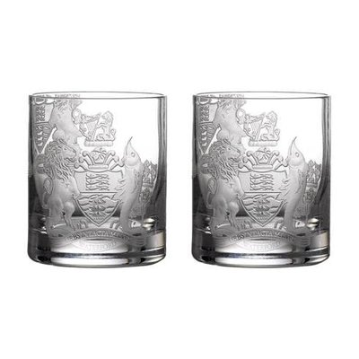 WATERFORD Crest Tumbler 11.8 Oz Set/2