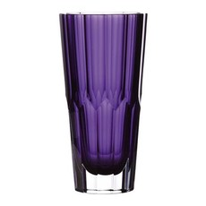 """WATERFORD Icon Vase 10"""" Améthyste"""
