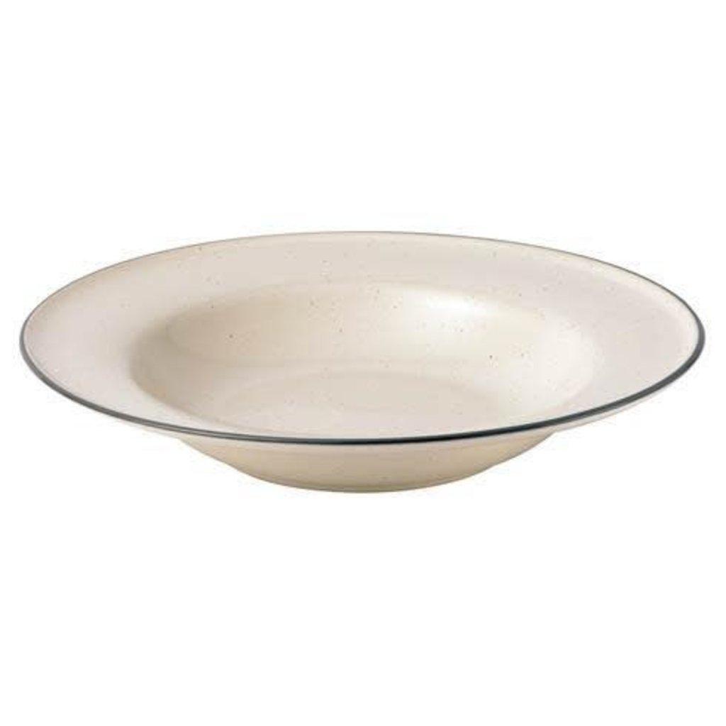 "ROYAL DOULTON Union Street Café Cream Pasta Bowl 10.7"""