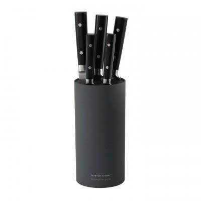 ROYAL DOULTON Gordon Ramsay Knives 6-Piece Knife Block Set Black