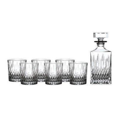 ROYAL DOULTON Decanter Sets Earlswood Whiskey Decanter 26 Oz With Tumbler 10 Oz Set/6