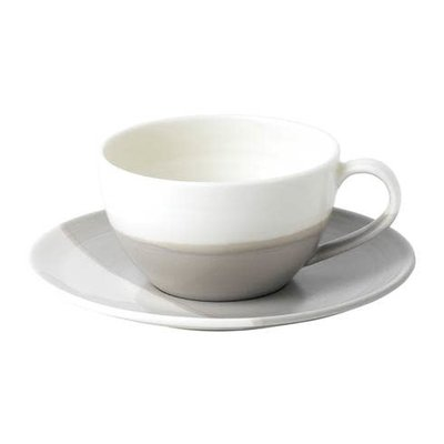 ROYAL DOULTON Coffee Studio Cappuccino Cup & Saucer Set 9 Oz