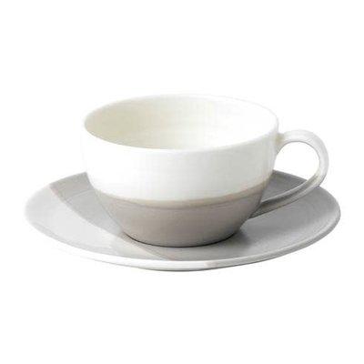 ROYAL DOULTON Coffee Studio Cappuccino Cup & Soucoupe Ensemble 9 Oz