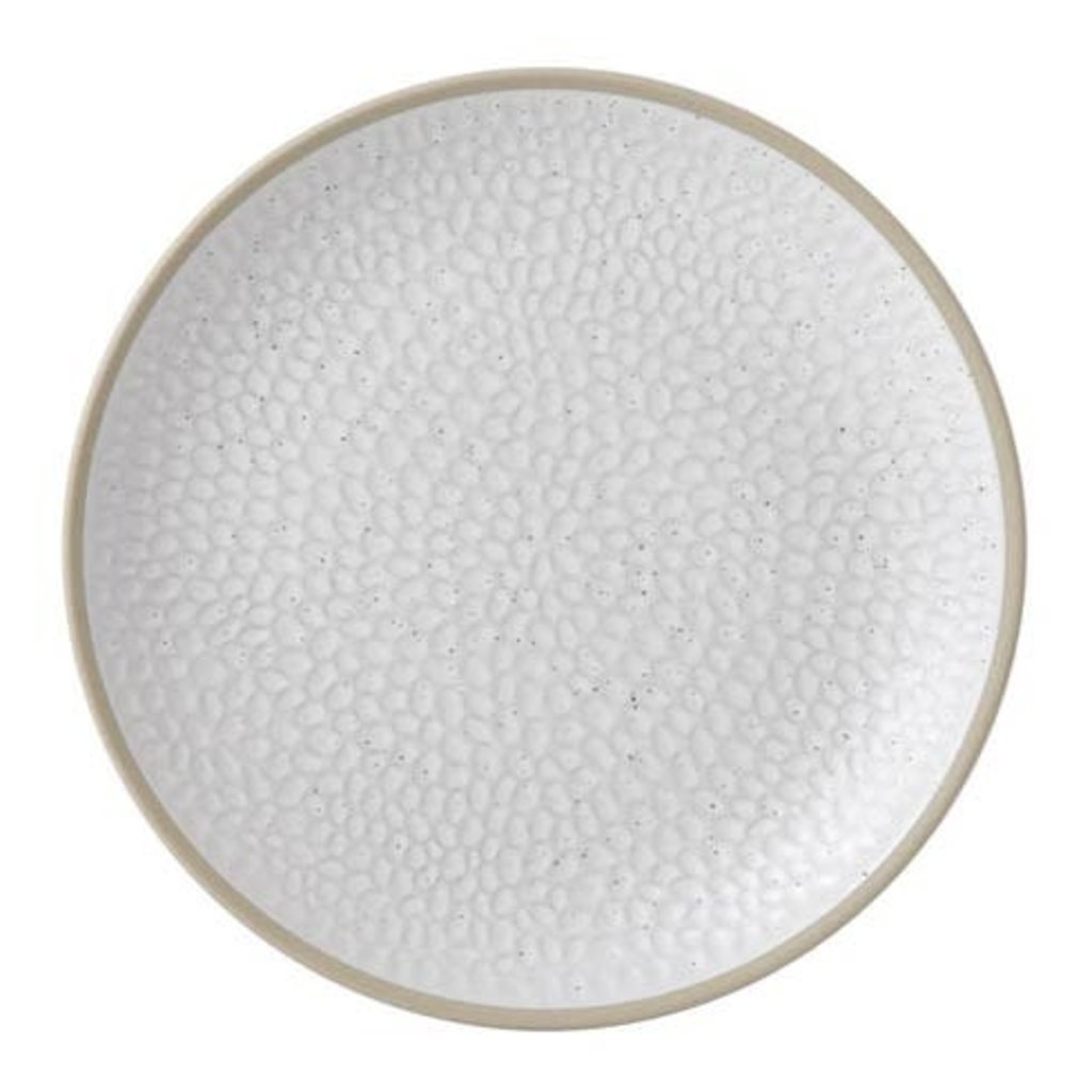 """ROYAL DOULTON Maze Grill White Salad Plate 9"""" Hammer"""
