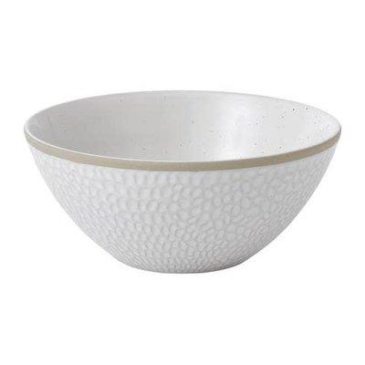 """ROYAL DOULTON Maze Grill White Bowl 6"""" Hammer"""