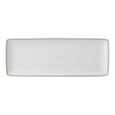 "ROYAL DOULTON Maze Grill White Serving Platter 16X7"" Hammer"