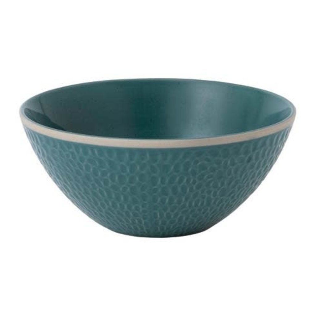 "ROYAL DOULTON Maze Grill Blue Bowl 6"" Hammer"