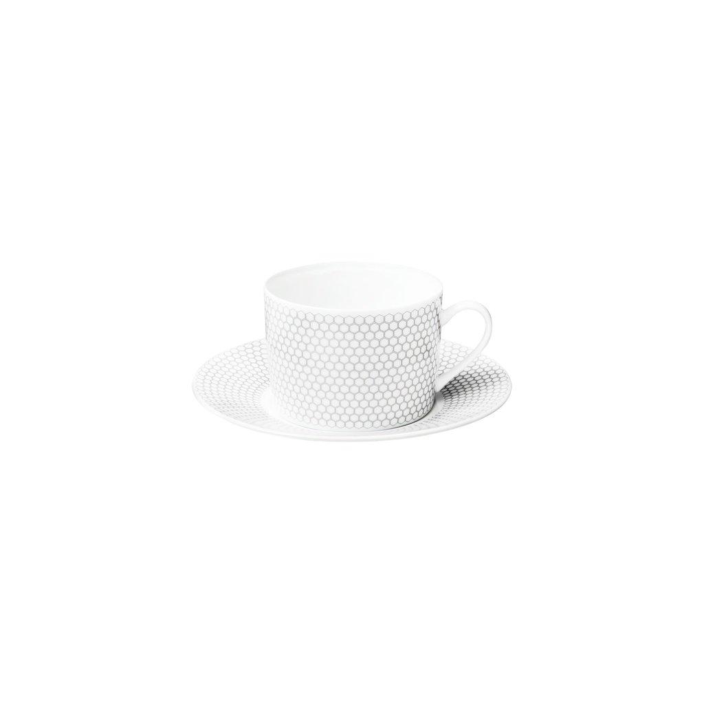 CHRISTOFLE Teacup/Saucer Madison 6