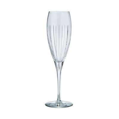 CHRISTOFLE Iriana Flûte À Champagne En Cristal Chaque 8 3/4'' - 5 7/10 Oz