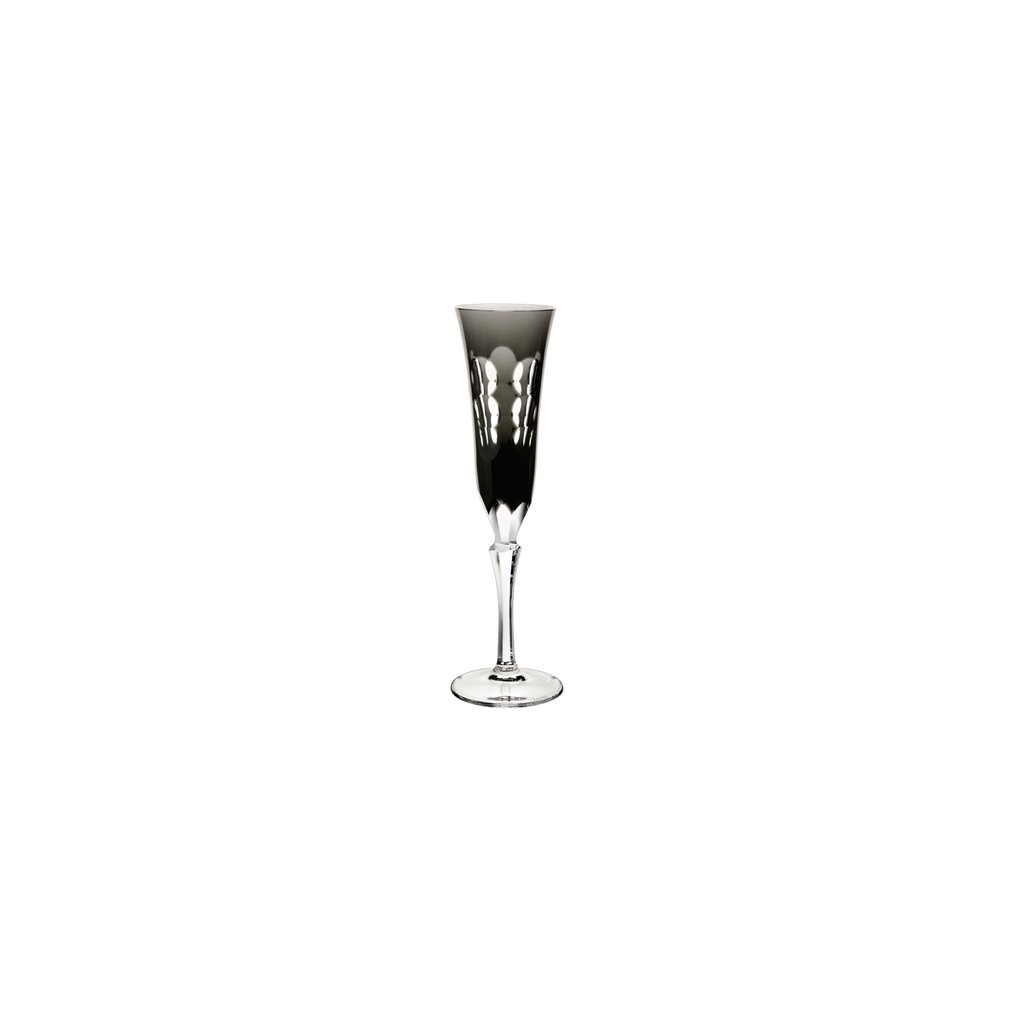 CHRISTOFLE Flute Glass Kawali Grey