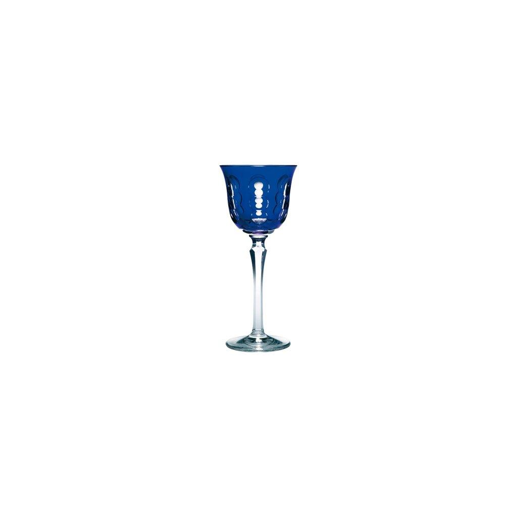 CHRISTOFLE Rhine Wine Glass Blue