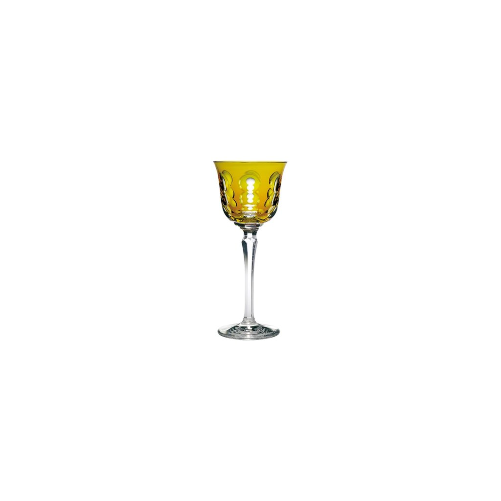 CHRISTOFLE Rhine Wine Glass Amber